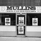 Mullins, Manchester. Making Lunch Your Finest Hour.