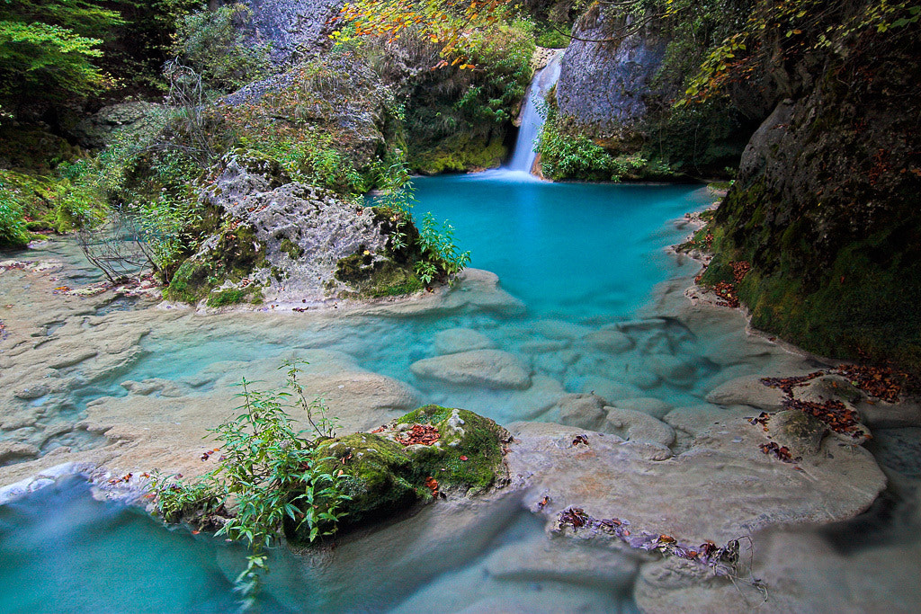 Photograph The blue river by Javier Abad on 500px