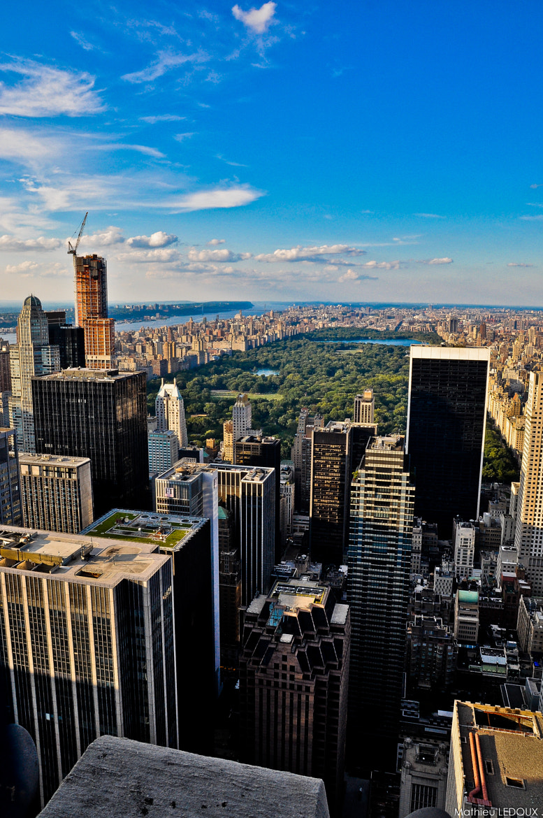 Photograph Top of the Rock (NYC ) by Mathieu LEDOUX on 500px