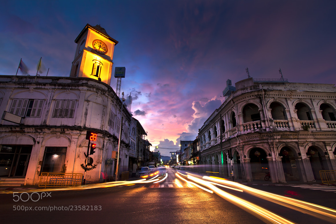 Photograph Old Town phuket by Hinokami Akira on 500px
