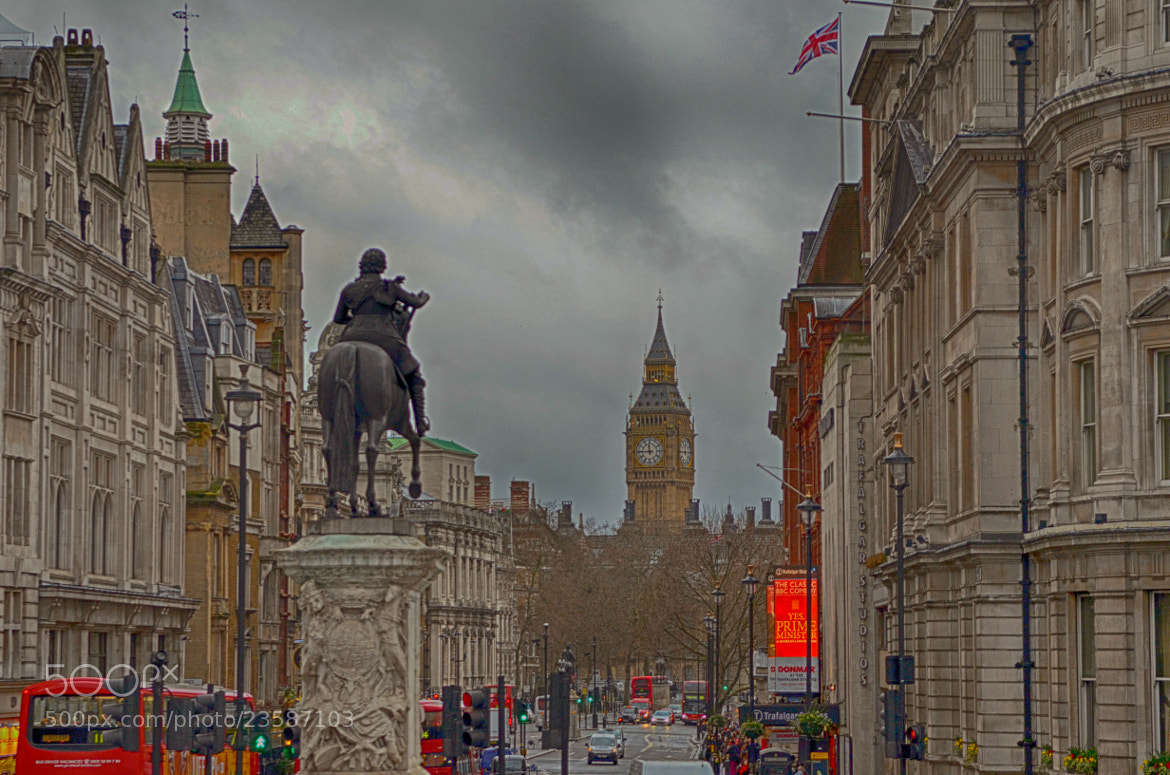 Photograph From Trafalgar Square to Big Ben by Luca Marchesin on 500px