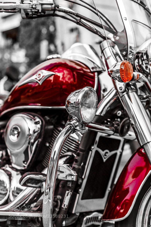 Photograph kawasaki bike by Yaniv Nisinman on 500px