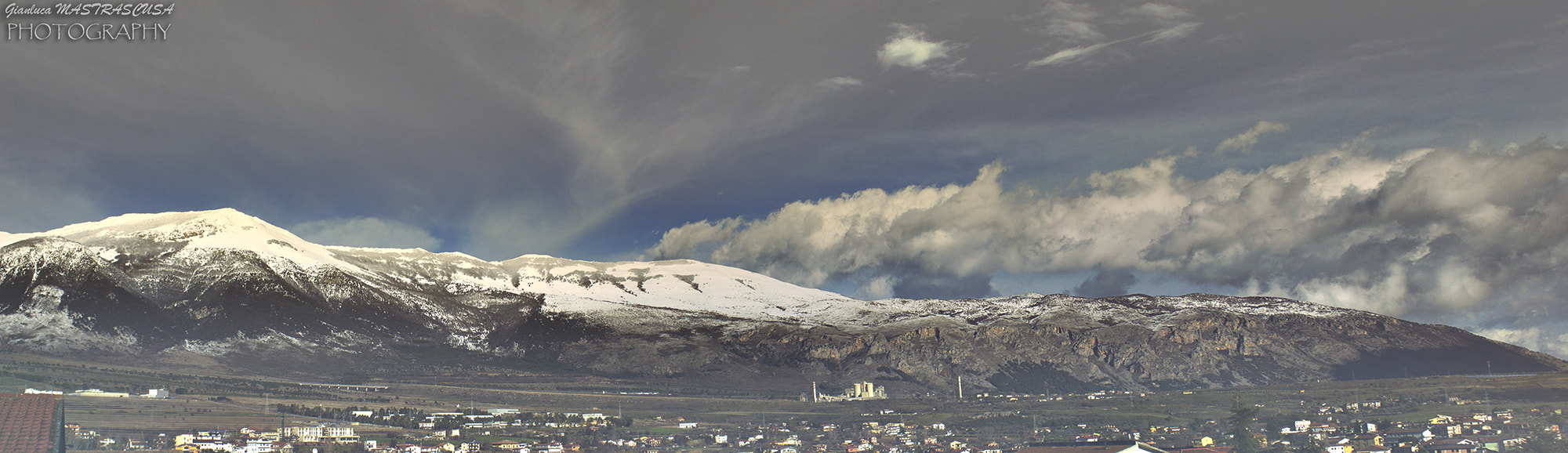 Photograph Pollino With Snow by Gianluca Mastrascusa on 500px
