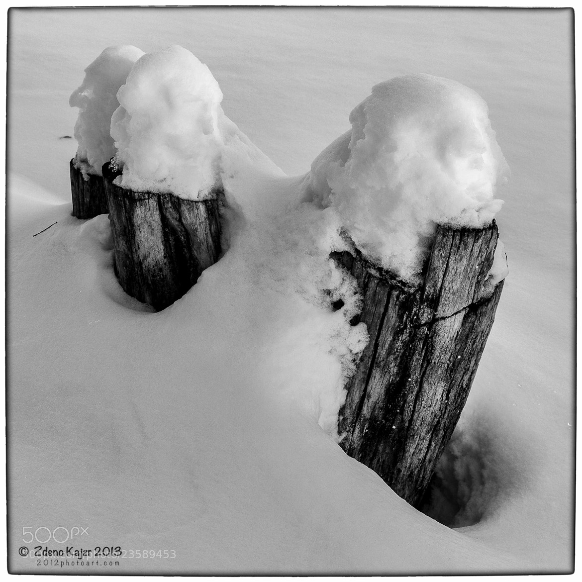 Photograph Framing snowy landscape (2) by Zdeno Kajzr on 500px