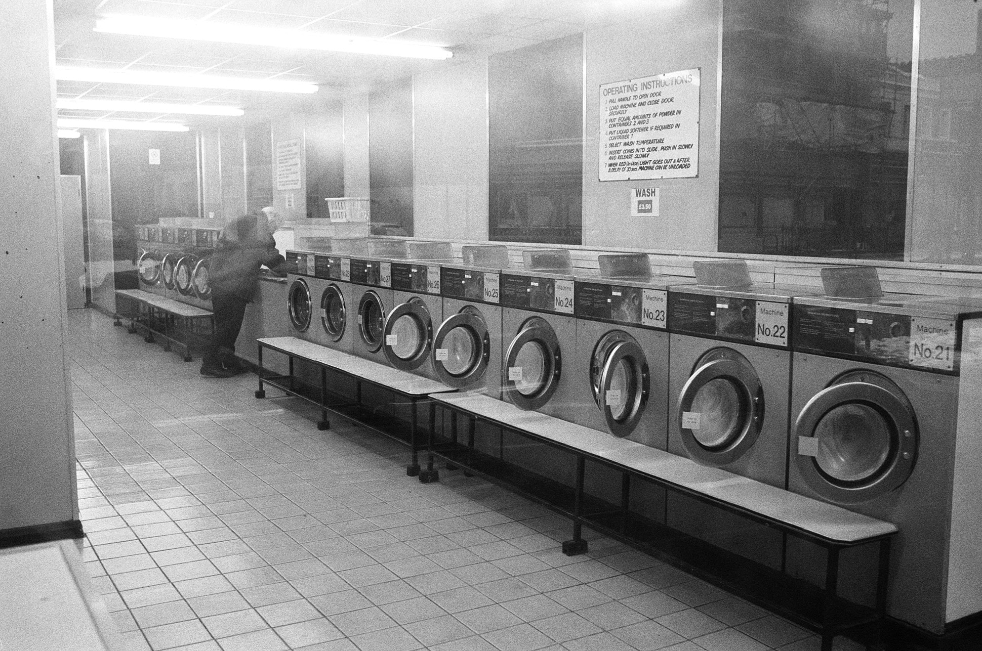 Photograph Laundrette by Christian Hayes on 500px