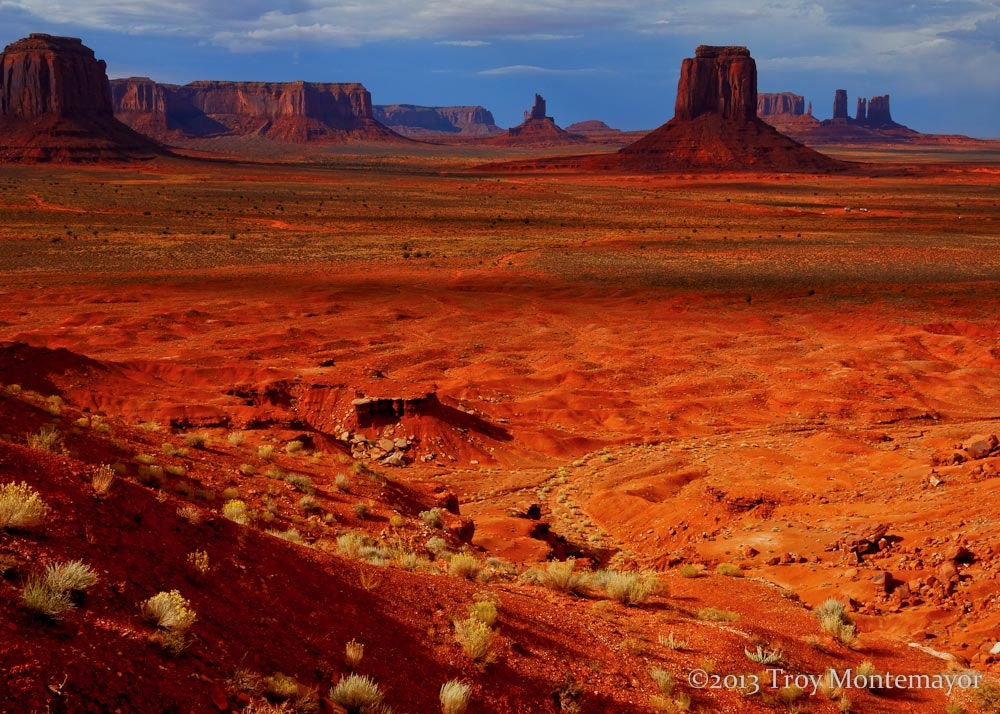 Photograph Monument Valley View by Troy Montemayor on 500px