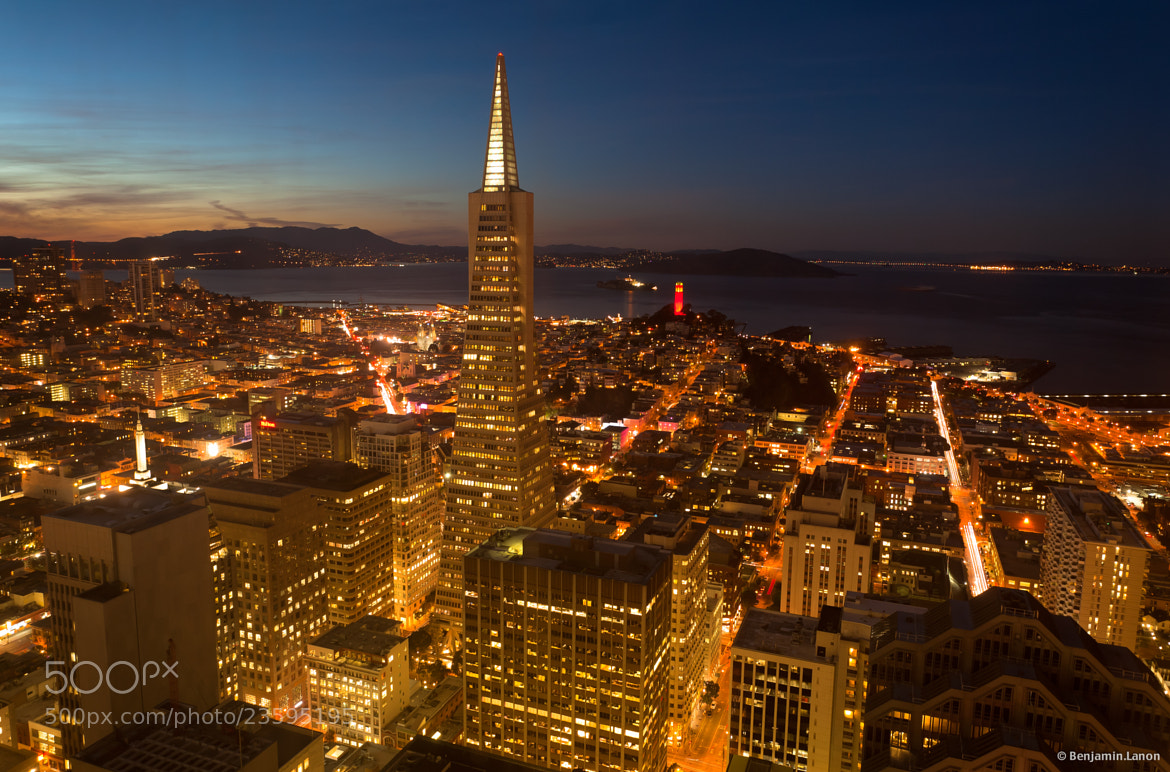 Photograph Transamerica Building by Benjamin Lanon on 500px