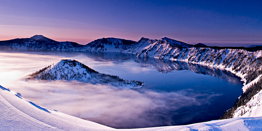 Photograph Crater Lake Dawn by Hudson Henry on 500px