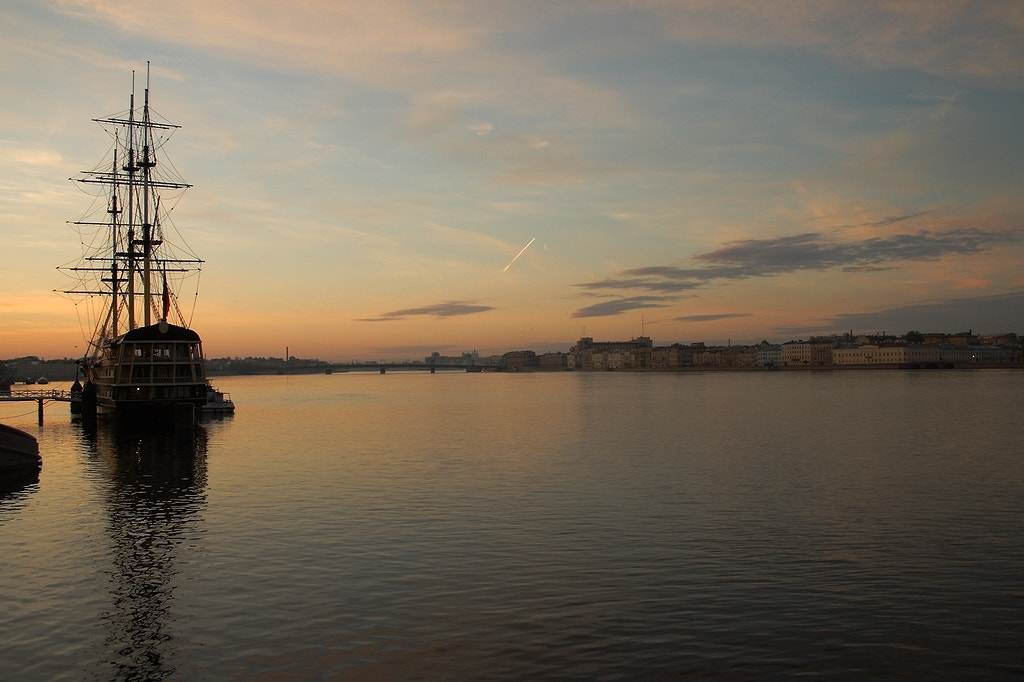 Photograph Sunrise at St.Petersburg by rspanov on 500px