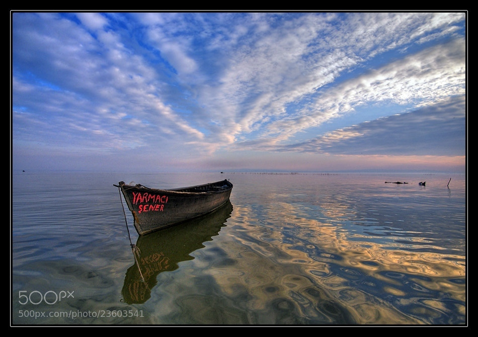 Photograph Alone in blue by İsmail Doğru on 500px