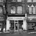 Time 4 a Wash, a laundrette in Hammersmith, London.