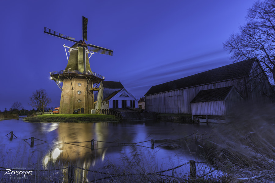 "Typical Dutch - Windmill ""De Zwaluw"" in Burdaard by Erik Spoelstra on 500px.com"