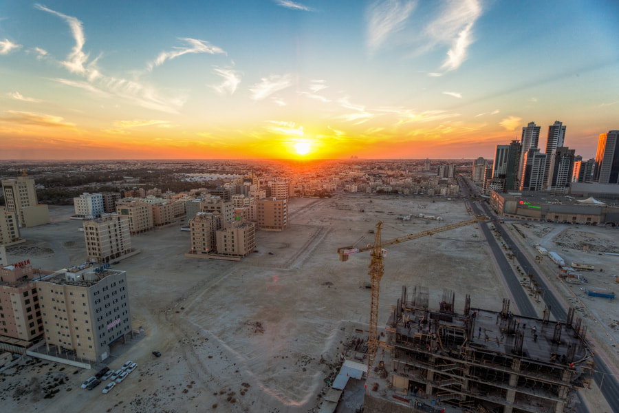 Photograph Bahrain's Sunset by Bruce Noronha on 500px