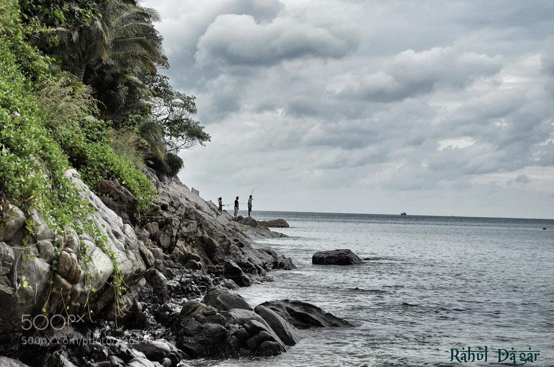 Photograph Fishermen's rock by Rahul Dagar on 500px