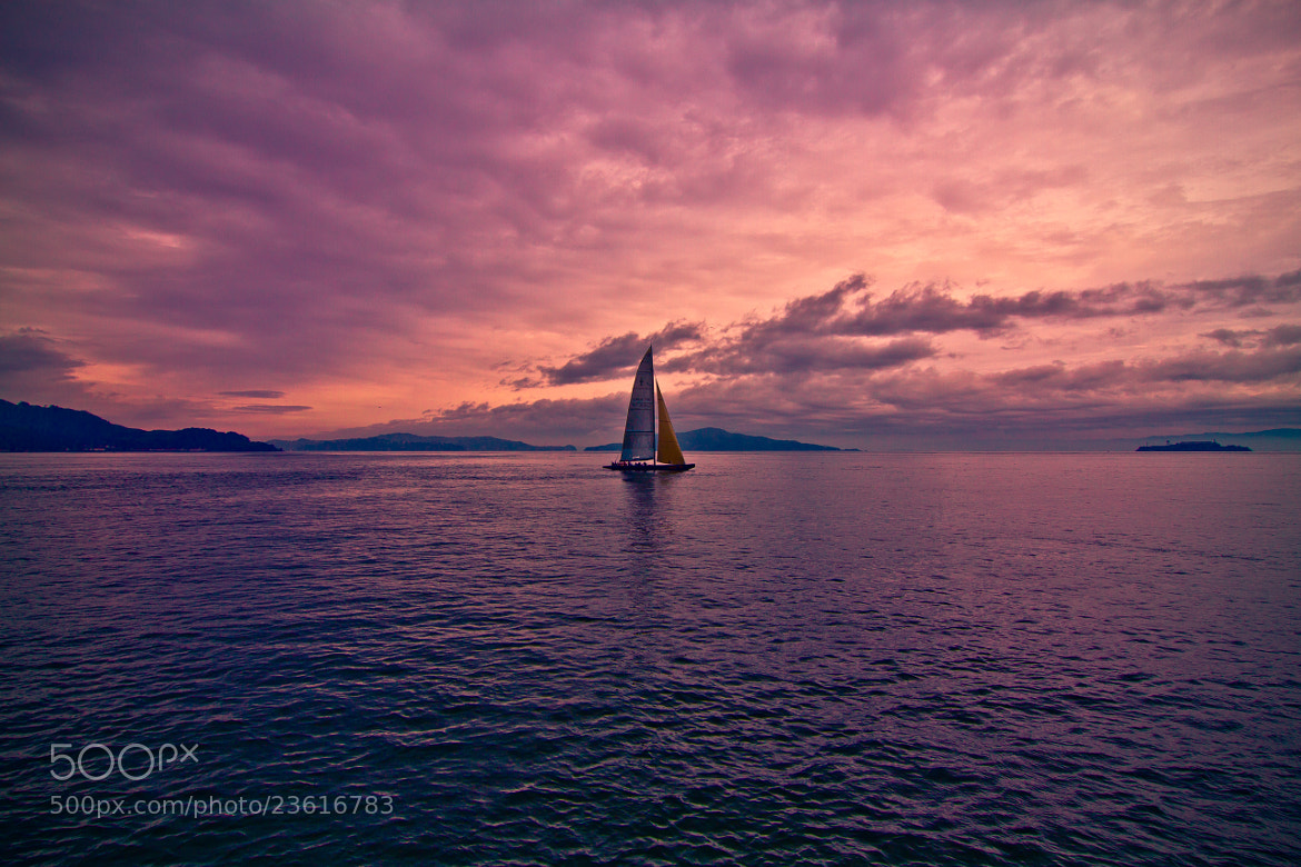 Photograph Sailing out to Alcatraz by Alister C. on 500px