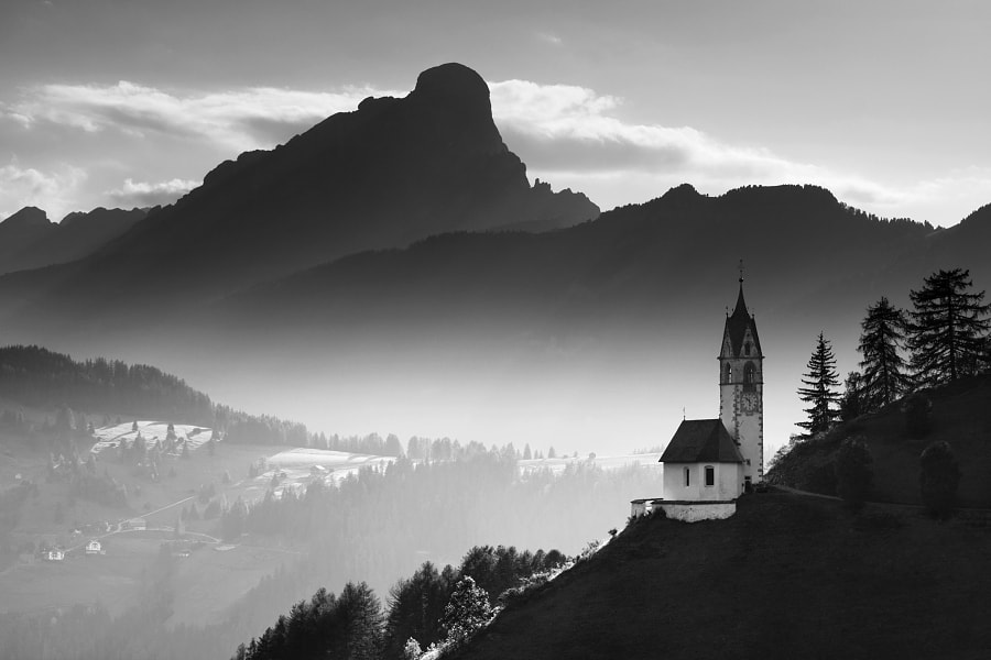 Alpine Church  by Daniel ?e?icha on 500px.com