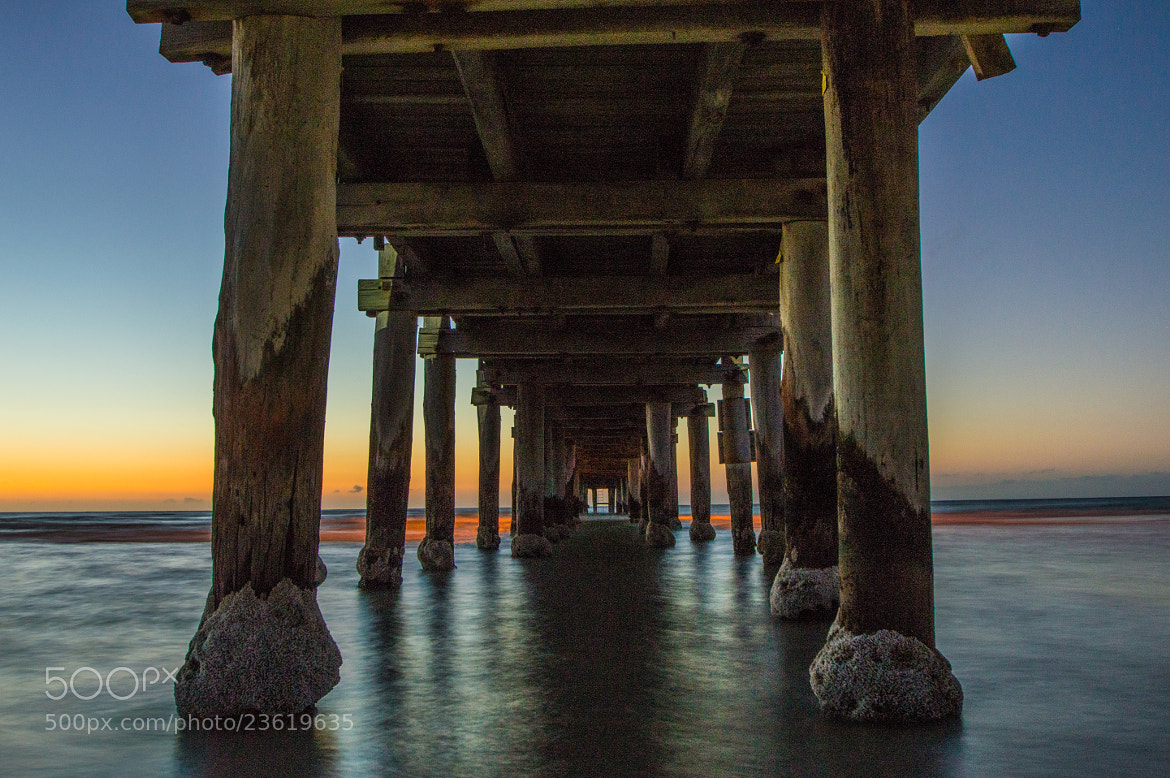 Photograph Sunset at Seaford Pier by Anthony Horsley on 500px