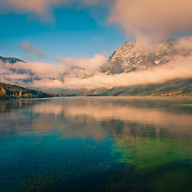 Waking up the lake by Brane Kosak (BraneKosak)) on 500px.com