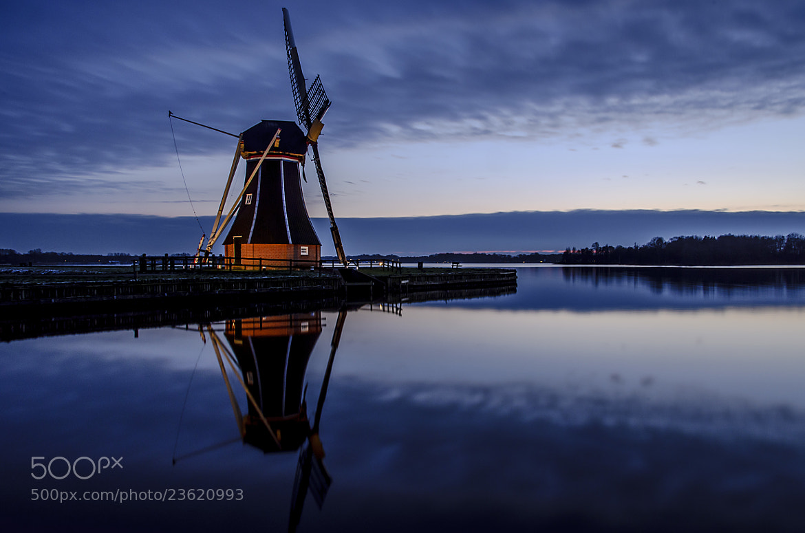 Photograph Dutch windmill by Martijn Barendregt on 500px