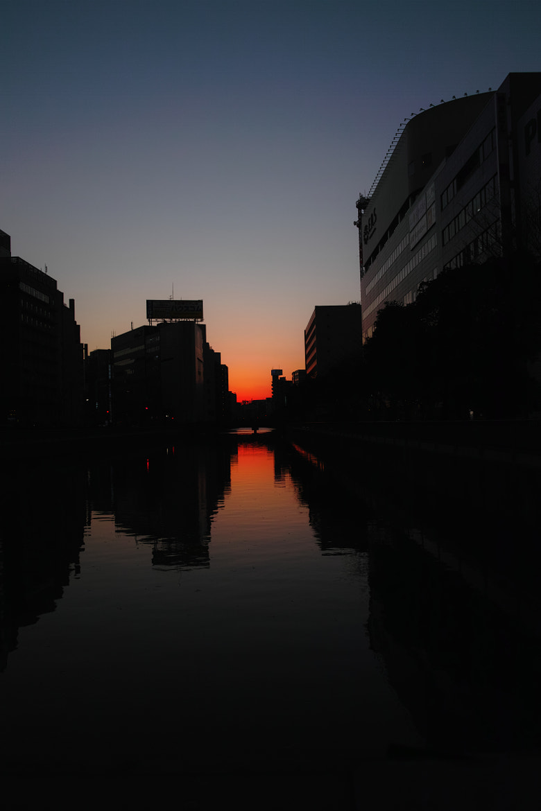 Photograph Mirrored Sunset by kimito_k  on 500px