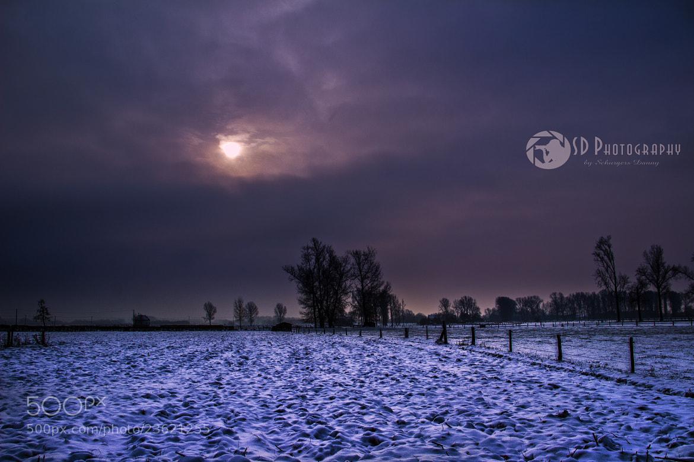 Photograph winter landscape by Danny schurgers on 500px