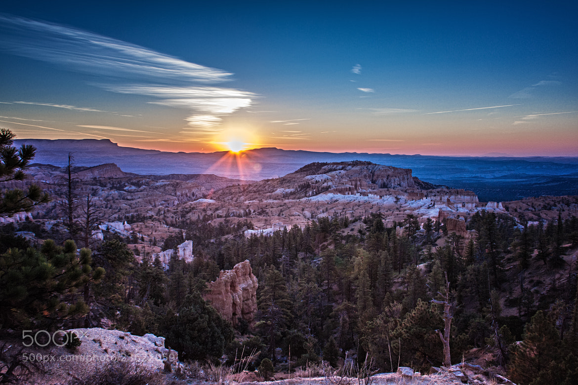 Photograph Sunrise over Utah by Laurent Meister on 500px
