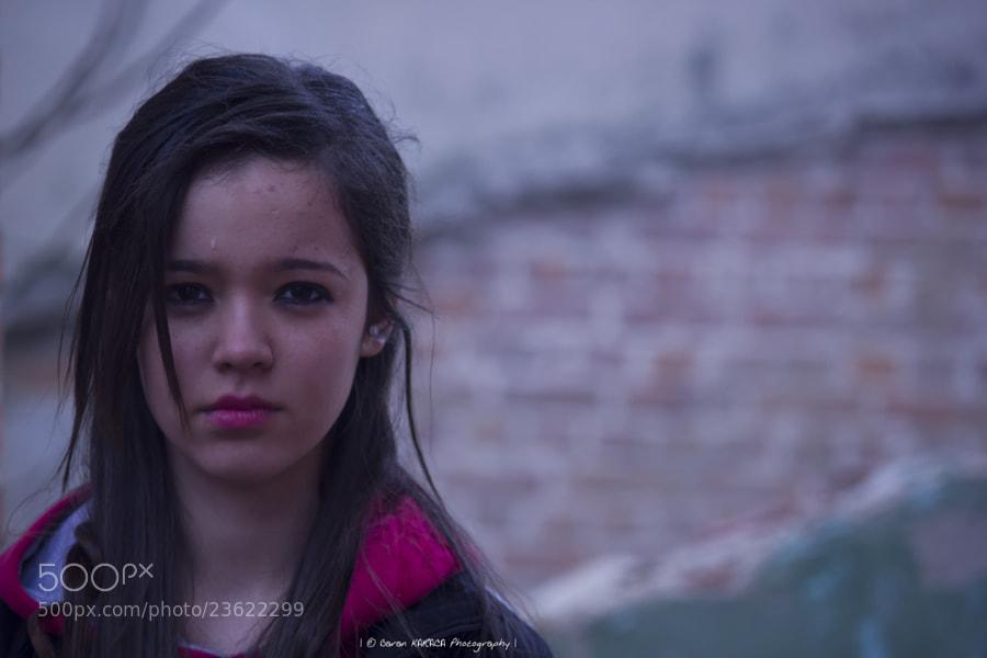 Model : Ilayda B. A Rainy day in Luleburgaz