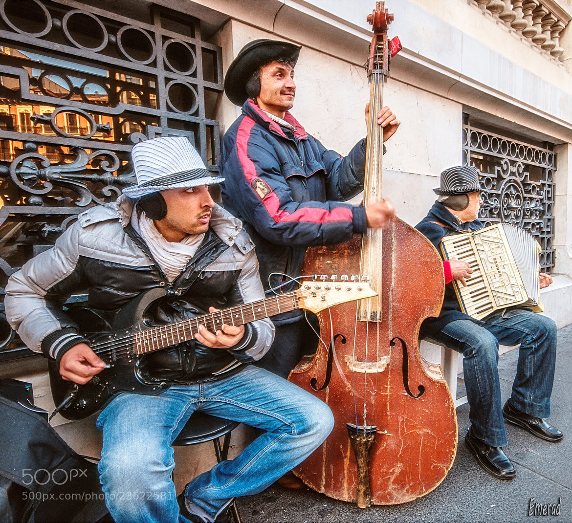Photograph The Band by Emilio Cabida on 500px