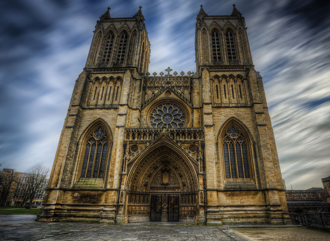 Photograph The West Towers. by Tim Pursall on 500px