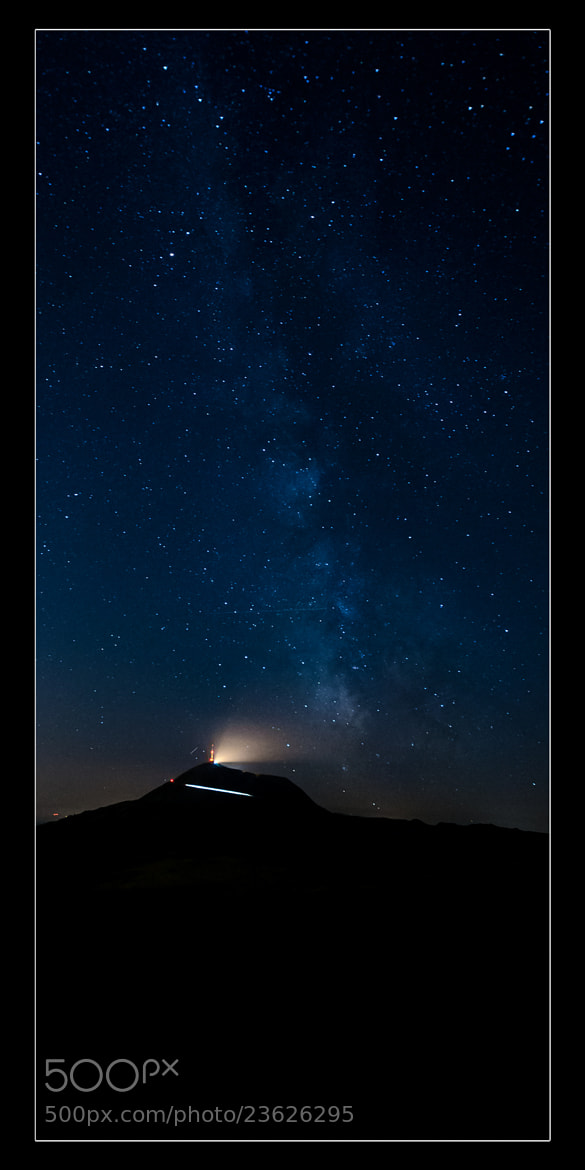 Photograph MilkyWay VS Puy de Dôme by gael photo.com on 500px