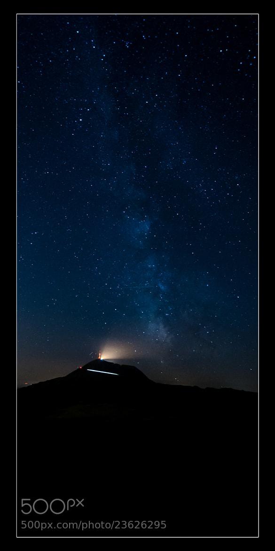 Photograph MilkyWay VS Puy de Dôme by gael photo.com on 500px