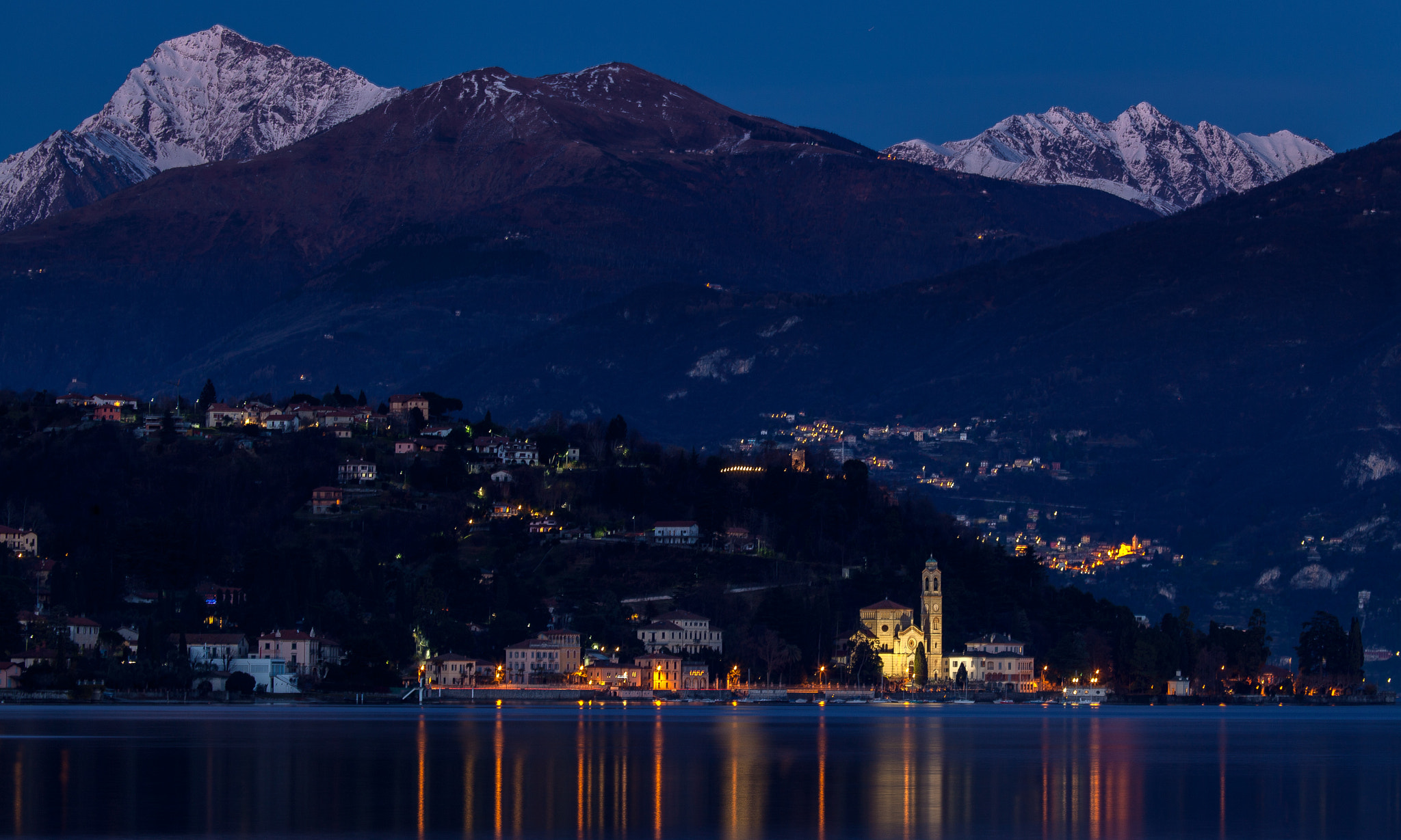 Photograph Lago di Como - Tremezzo (from Lenno) by Roberto Roberti on 500px