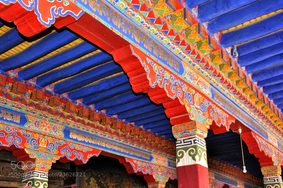 Photograph Ceiling of Jokhang Temple by Csilla Zelko on 500px