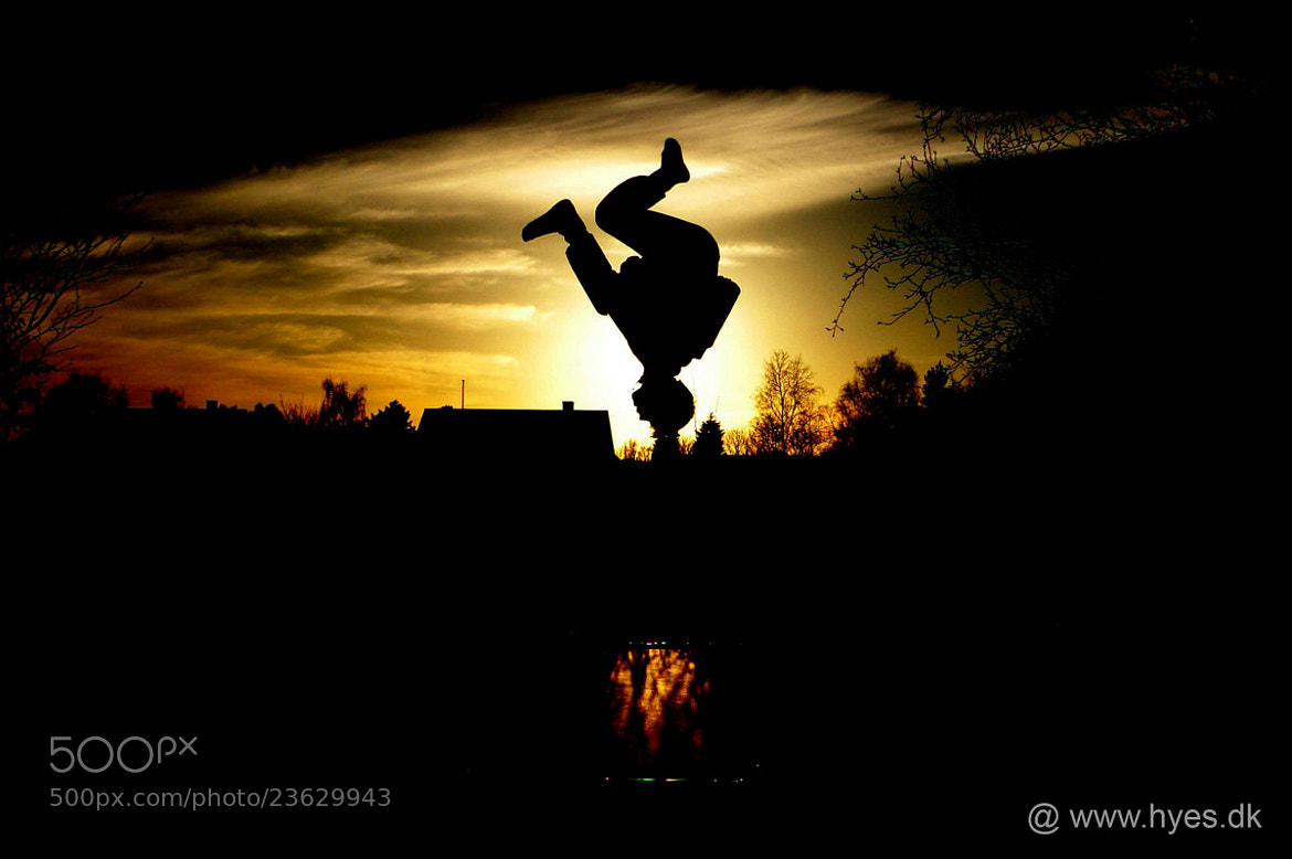 Photograph Salto into the sunset by hyen on 500px