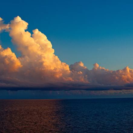 Key West sky at dusk