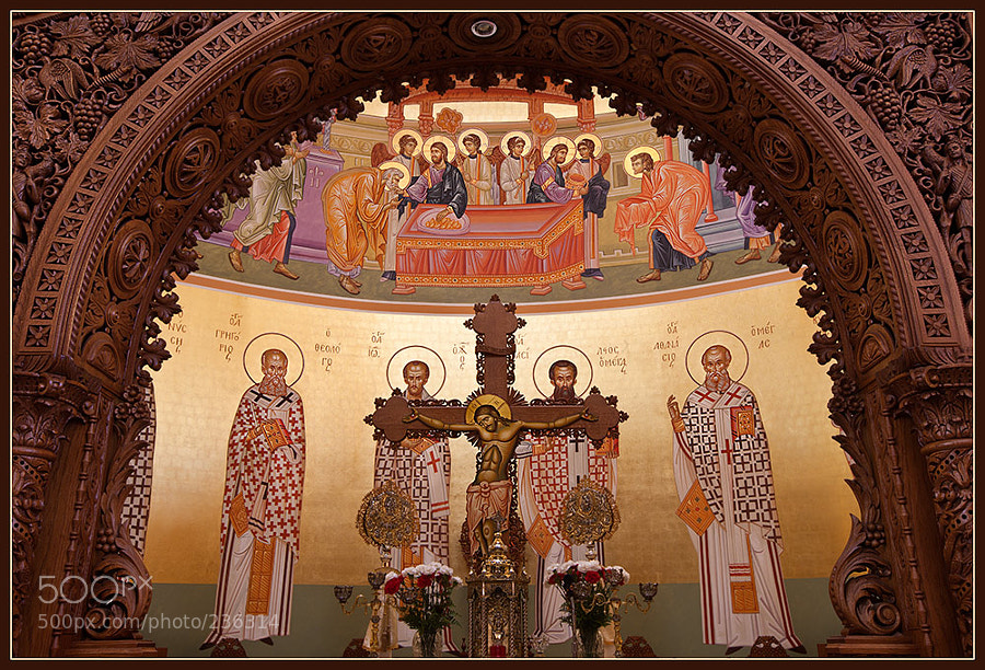 Annunciation of Virgin Mary Greek Orthodox Church. Sanctuary.