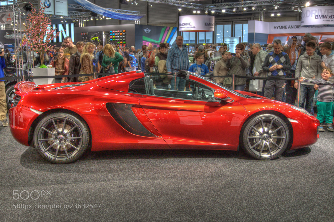 Photograph Mc Laren 12C Spider by Christopher Radlinger on 500px