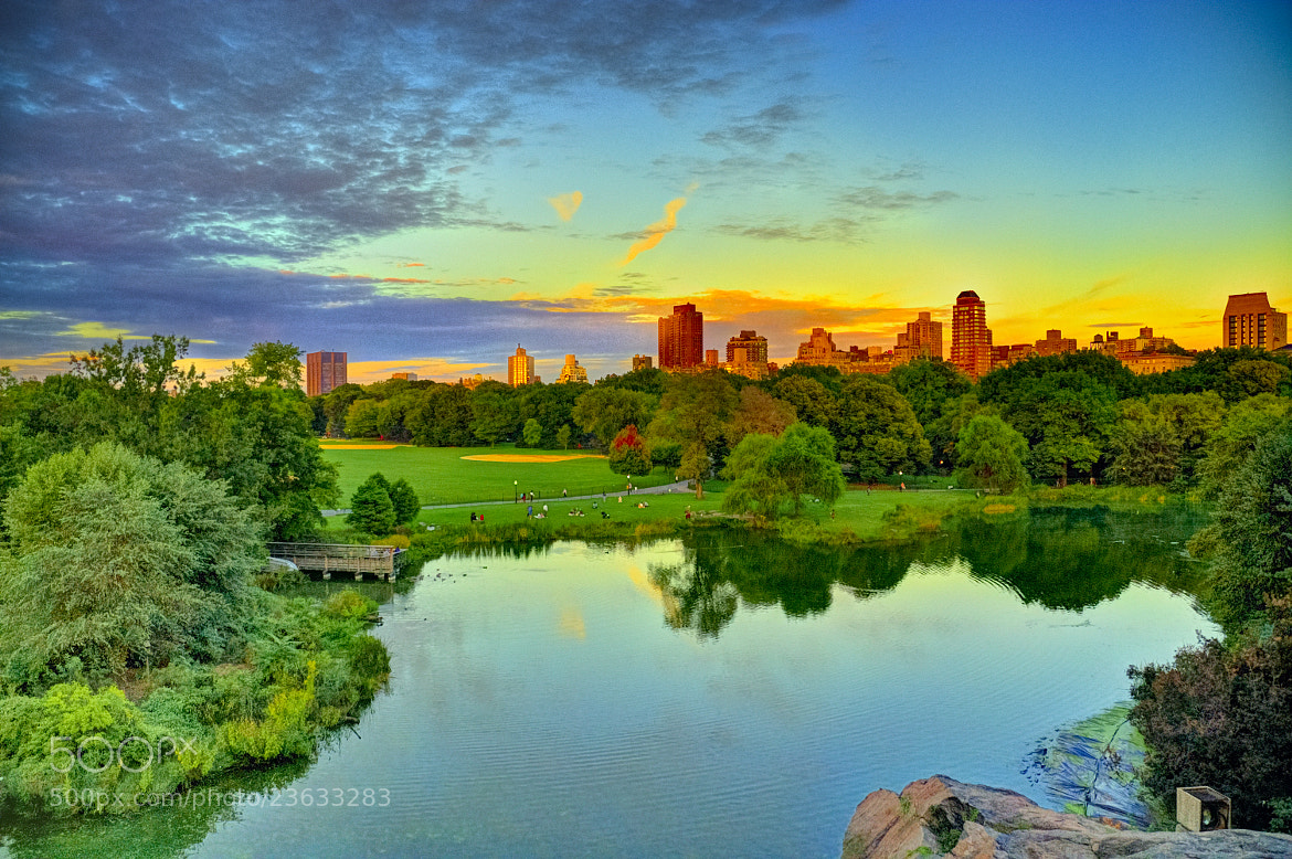 Photograph Dusk in Central Park by Paco López on 500px