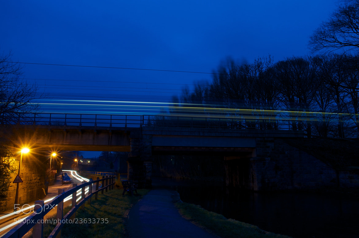 Photograph 18:01 to Glasgow - 20/365 by David Mann on 500px