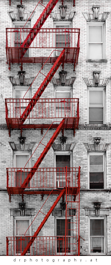 Photograph Soho fire escape by Dietmar Rieder on 500px