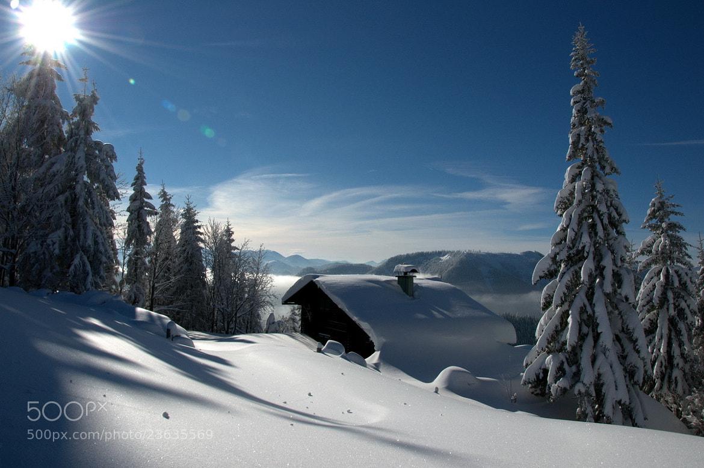 Photograph Winterlandschaft3 by Werner Bogenstorfer on 500px