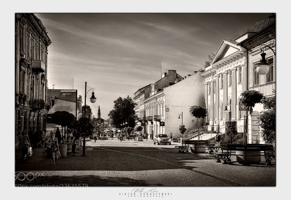 Photograph Streets of Radom. Poland by Viktor Korostynski on 500px