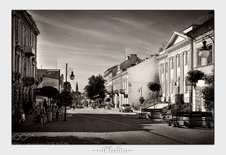Photograph Streets of Radom. Poland by Viktor Korostynski on 500px
