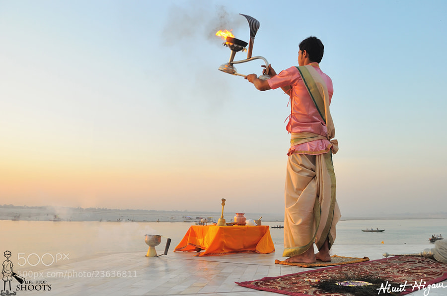 Photograph Morning Aarti... by Nimit Nigam on 500px