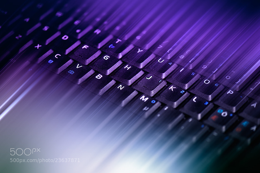 Photograph keyboard No2 by Marek Czaja on 500px