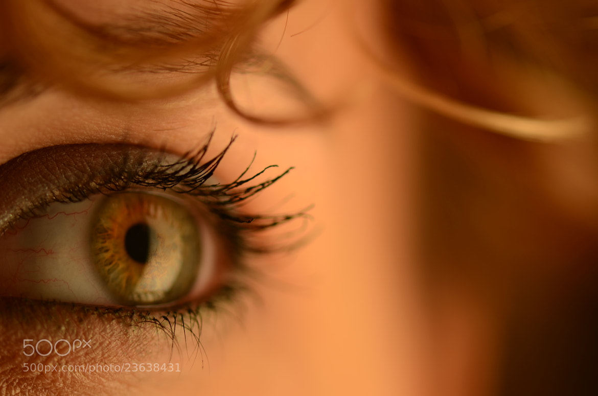 Photograph Lisa 's eye by Thomas Stuffer on 500px
