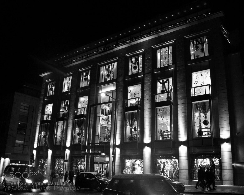 Photograph Edinburgh by night by Marek Wardega on 500px