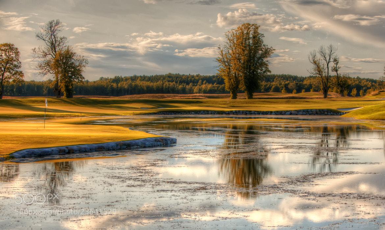 Photograph Bro Hof Golf by Nicklas Westberg on 500px