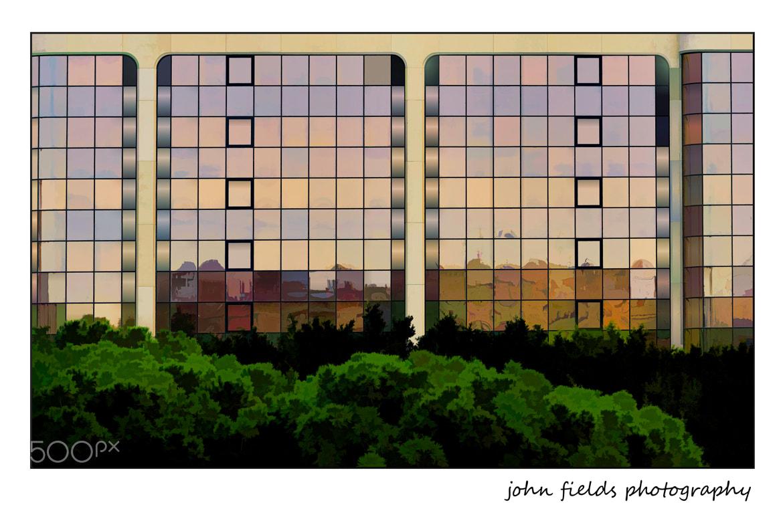 Photograph Glass facade by John Fields on 500px