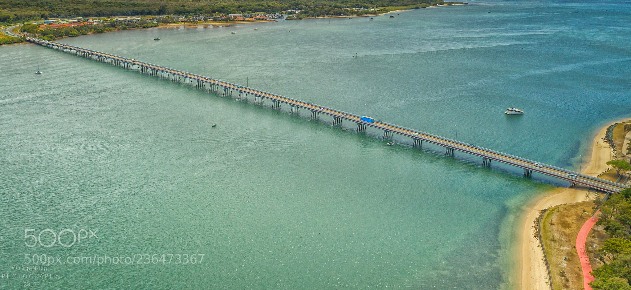 Pumicestone Passage, Bridge